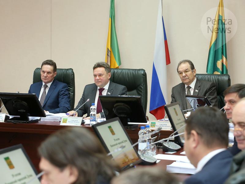 Николай Тактаров выдвинут напост руководителя Пензы