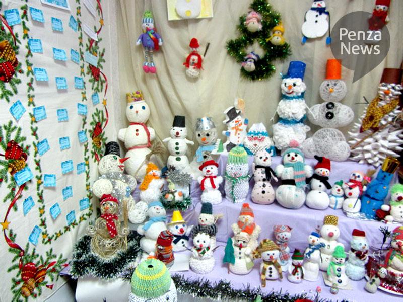 Конкурс снеговиков к новому году