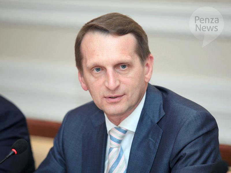 Нарышкин неисключает пакетного соглашения между фракциями Государственной думы нового созыва