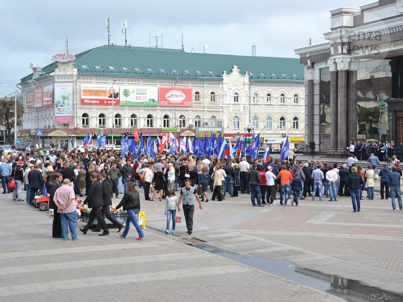 Члены пензенского отделения «Единой России» провели митинг благодарности избирателям