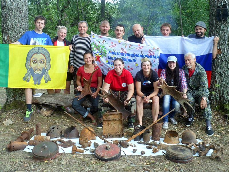 Пензенский поисковый отряд «Крепость» вернулся с раскопок из-под Ржева