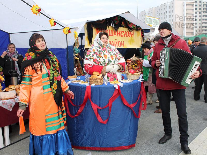 В Пензе прошла выставка продукции местных сельхозпроизводителей
