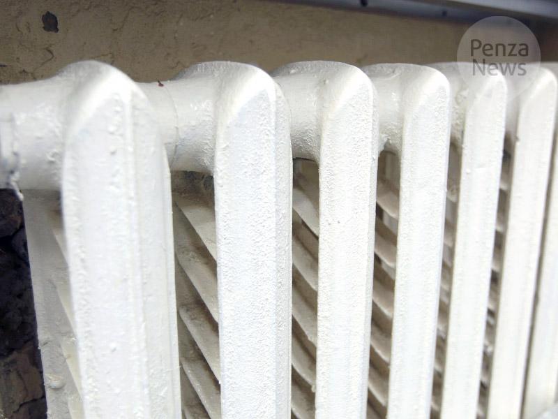 ВПензе тепло непоступило в7 жилых домов