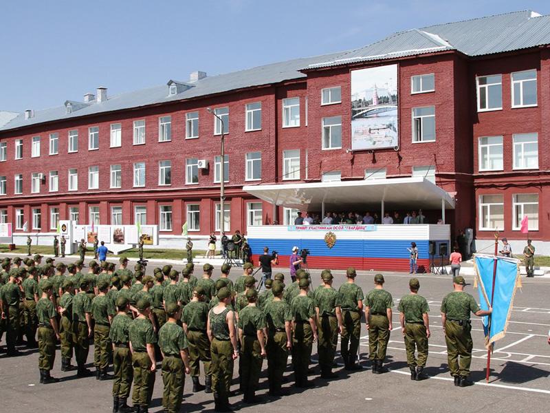 Сегодня, 18 мая, на базе воинской части