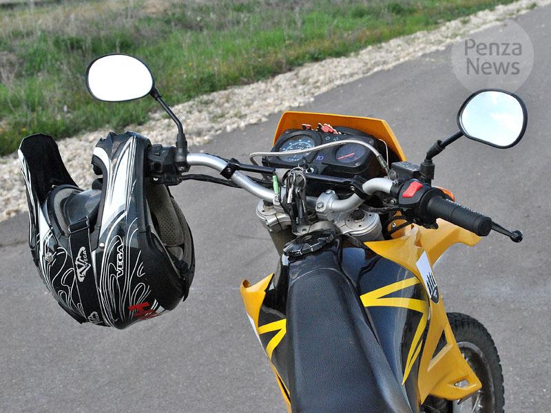 ВМокшанском районе разбился мотоциклист