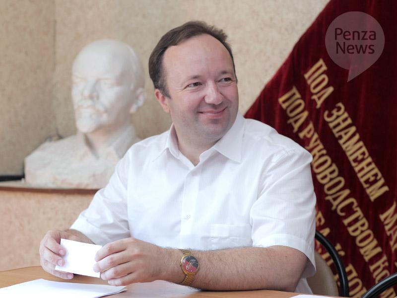 Владимир Симагин зарегистрирован в качестве кандидата в губернаторы Пензенской области