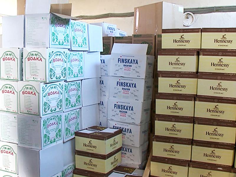 Под Пензой изъяли свыше 2,6 тыс. бутылок «паленого» алкоголя