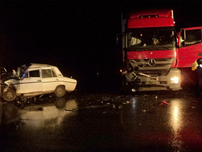 ВРамзае ночью столкнулись «ВАЗ» ифура, есть пострадавшие