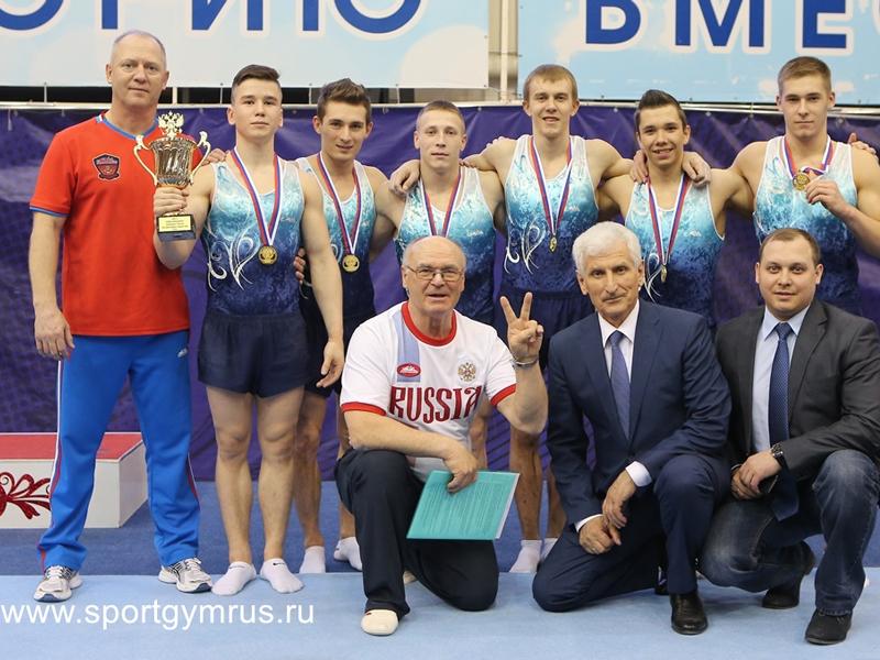Пензенский гимнаст Денис Аблязин стал чемпионом России в составе команды ПФО