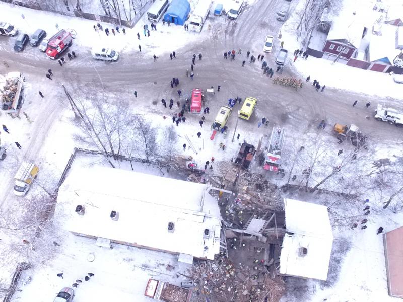 Число погибших взрыва газа вИванове выросло до 6-ти