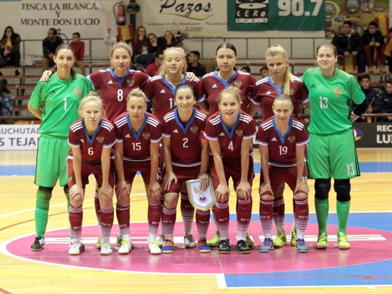 Женская сборная РФ помини-футболу выиграла турнир «Четырех наций»