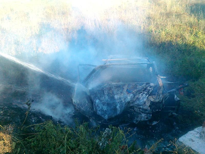 ВВадинском районе трое погибли взагоревшемся после ДТП автомобиле