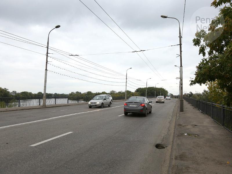 ВПензе перекрыт Свердловский мост для масштабного ремонта