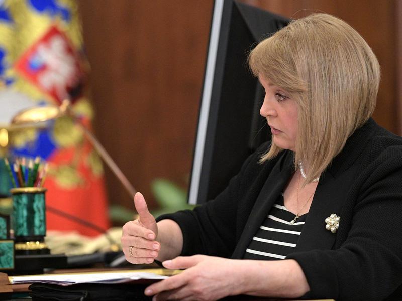 Памфилова проинформировала Путину данные онарушениях надумских выборах