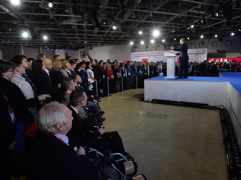 Путин выступит вчетверг на консилиуме активных жителей «Сообщество»