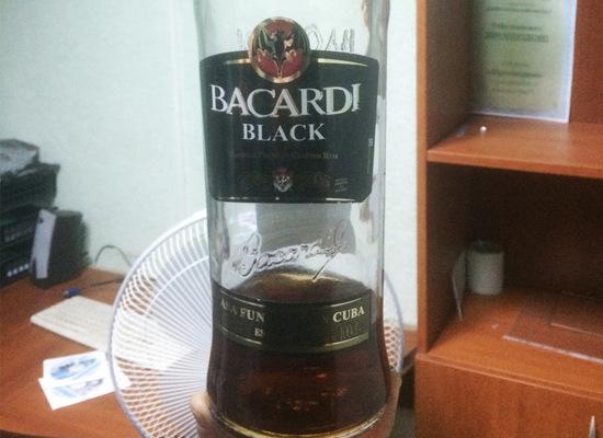 Bacardi Black Rum - Image Copyright Penza.sledcom.ru