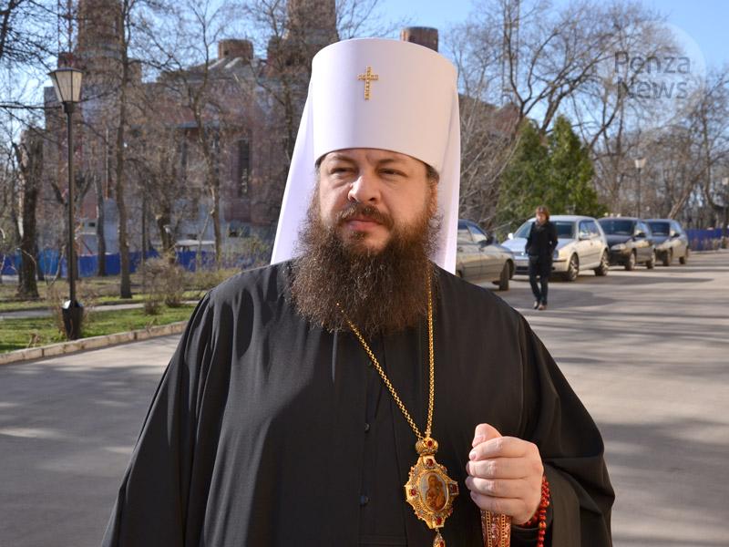 Митрополит Серафим обратился к жителям Пензенской области с пасхальным посланием