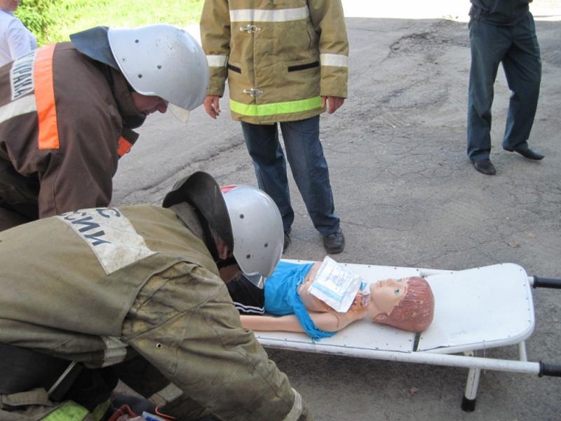 ВШемышейке медработники и cотрудники экстренных служб отработали действия впожаре в клинике