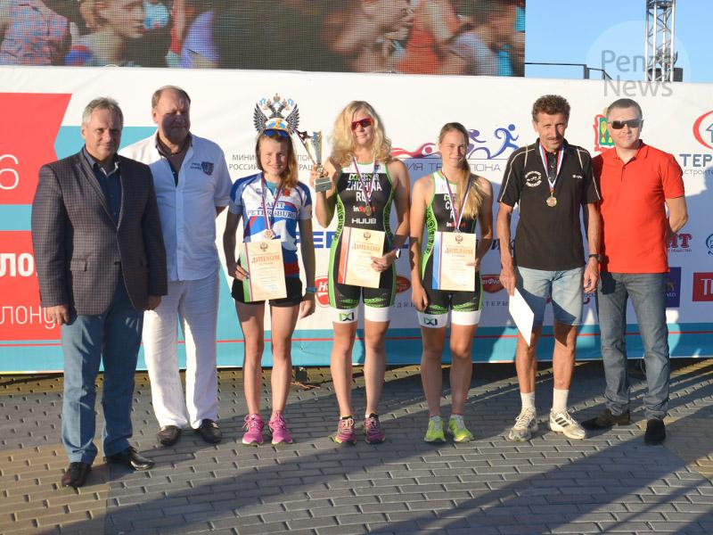 Красноярские триатлонисты стали чемпионами Российской Федерации
