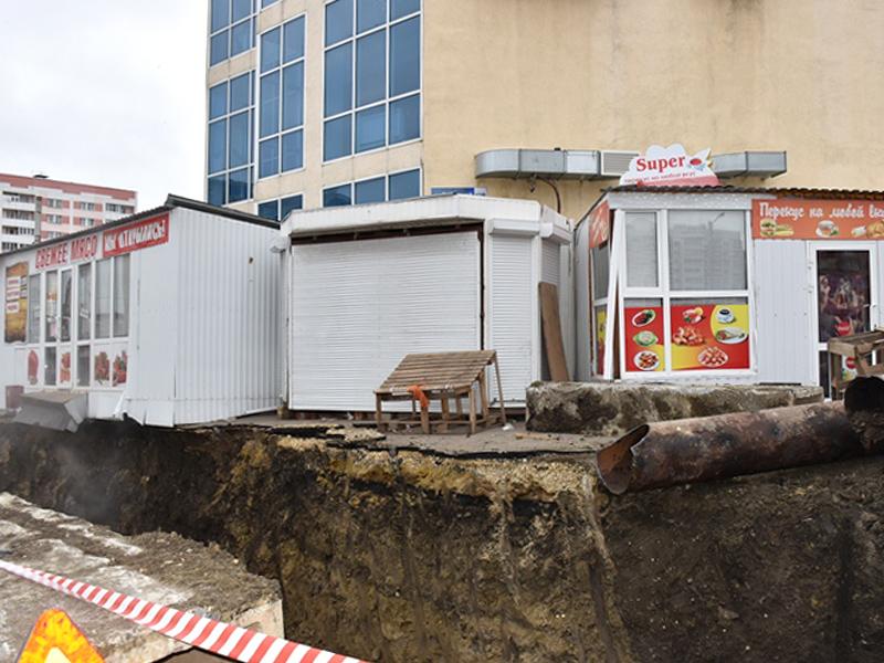 В далеком Арбеково начат демонтаж мешающих ликвидации коммунальной трагедии киосков