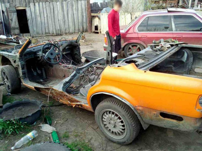 Похищенный вПензе раритетный «BMW» был разобран на детали