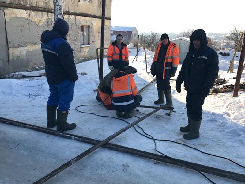 ВПензе 97 коммунальщиков восстанавливают тепло наСевере