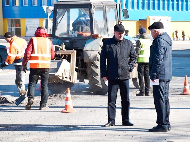 Ямочный ремонт вПензе 24марта проводится на4 дорогах