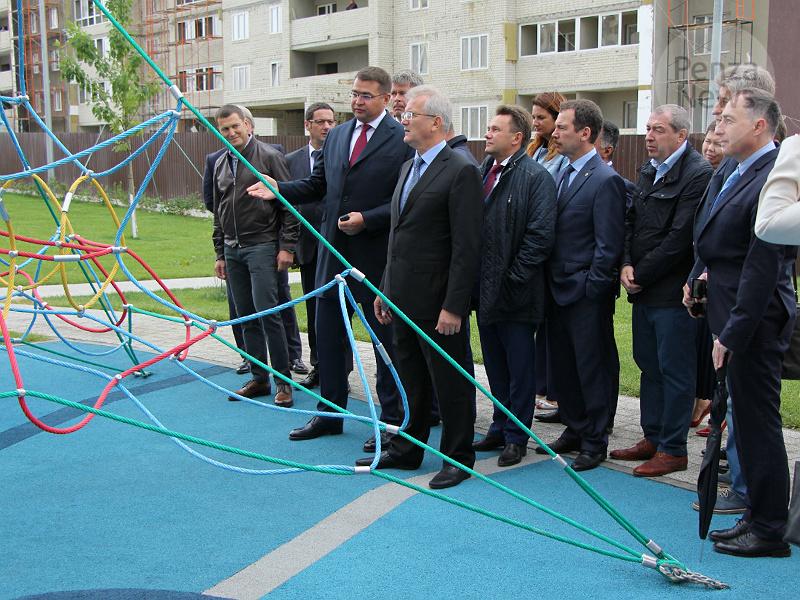 ВПензе после реконструкции открылась дорога наулице Антонова
