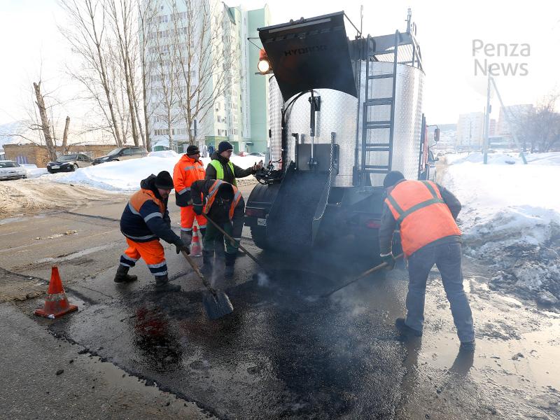 Мэр Кувайцев: Аварийные участки дорог Пензы нужно восстанавливать уже сейчас