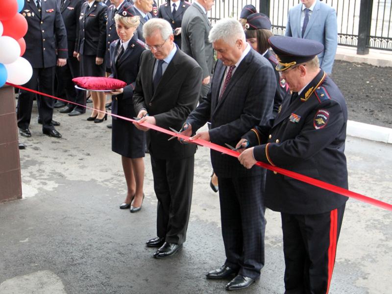 ВПензе Министр внутренних делРФ открыл новое сооружение УМВД