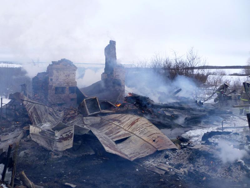 ВПензенской области впламени умер 63-летний мужчина
