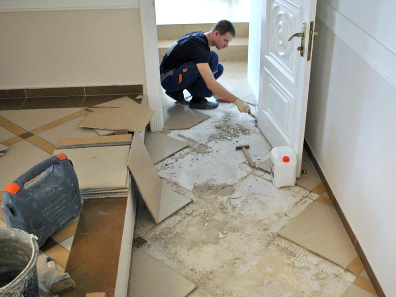 Капитальный ремонт пола в квартире