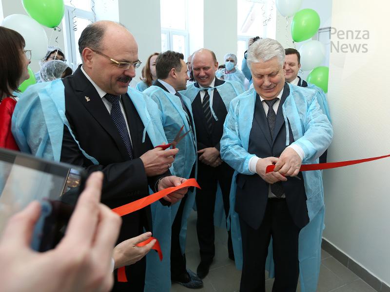 ВПензенской области открылось новое офтальмологическое отделение