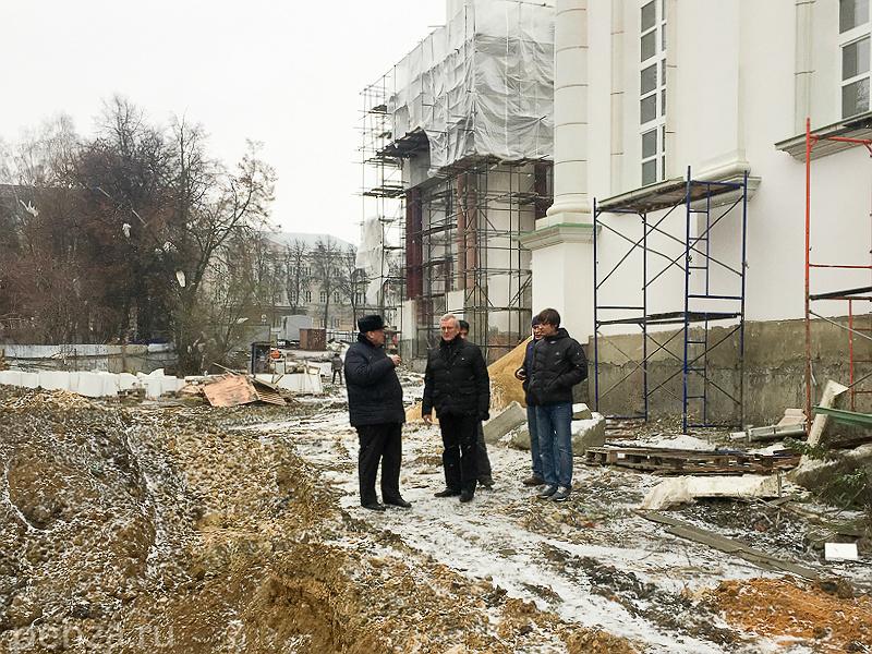 Внутренней отделкой Спасского храма займутся пензенские мастера