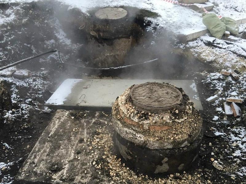 ВПензе из-за прорыва натепломагистрали без тепла остались 146 домов