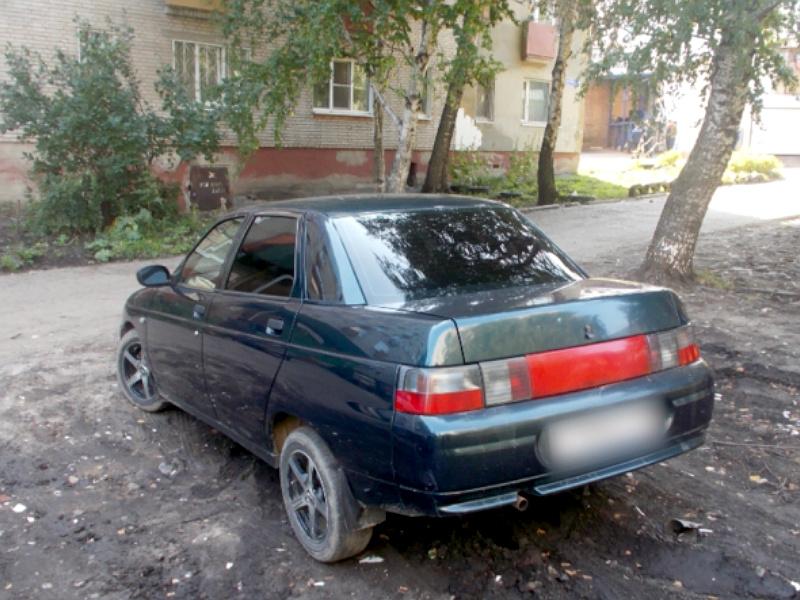 ВПензе парень угнал автомобиль экс-возлюбленной, покатался ибросил