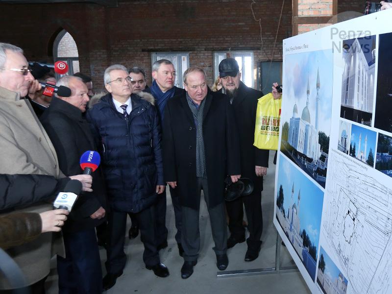 ВПензе окончено строительство здания мечети, возводившейся с2010 года