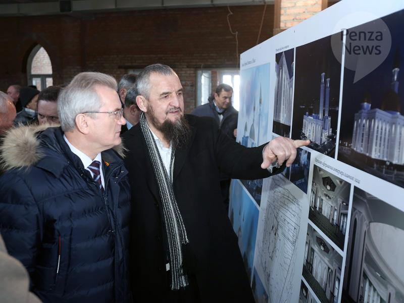 Губернатору поведали отрудностях встроительстве мечети вПензе