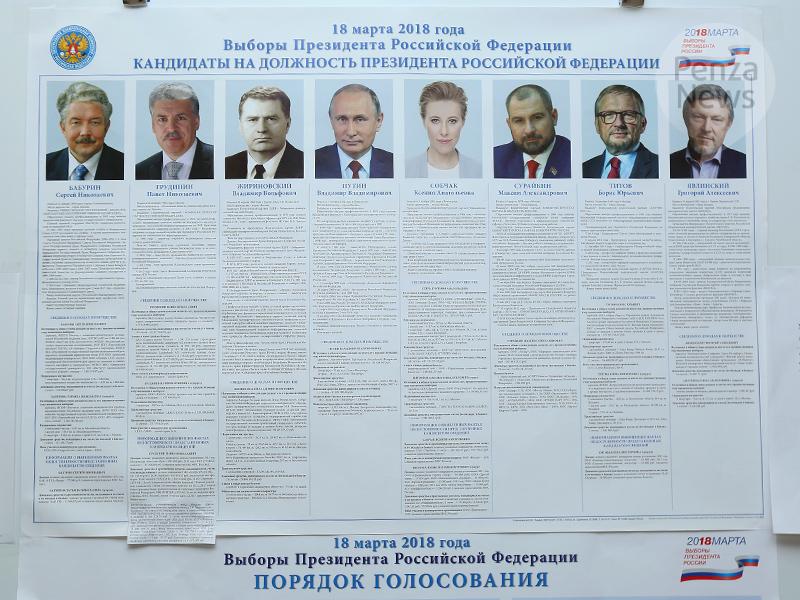 Павел Грудинин проголосовал навыборах президента Российской Федерации