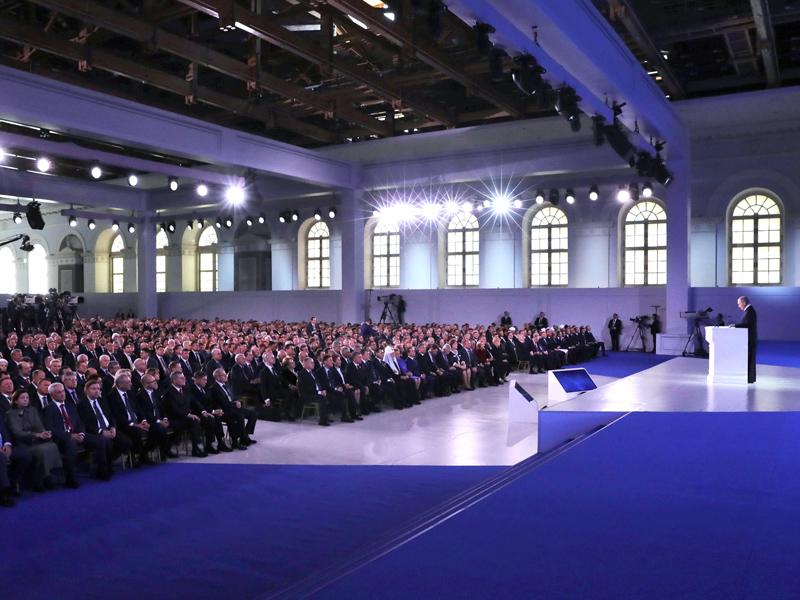 Владимир Путин: «Развитие городов должно стать движущей силой страны»