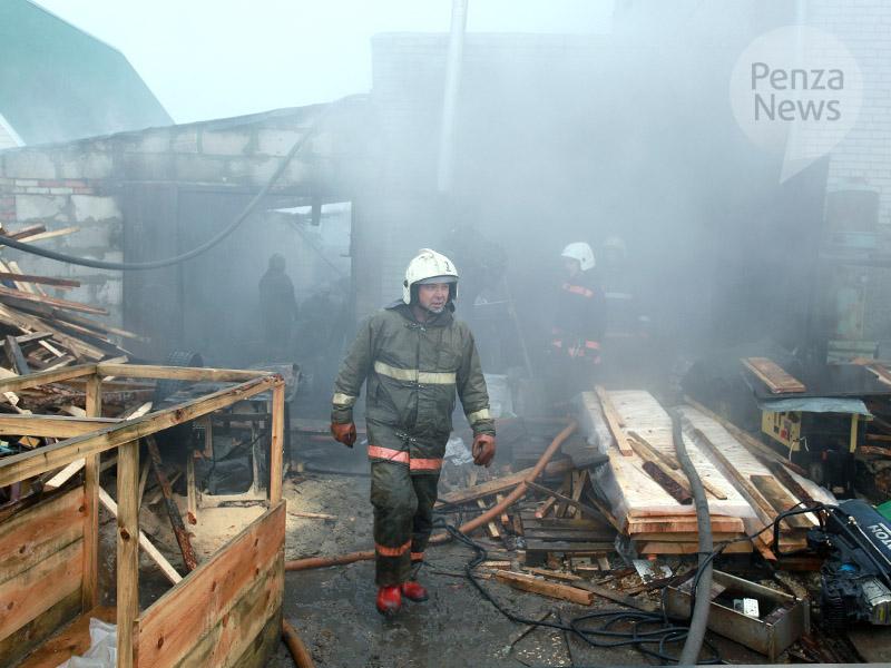 Ночной пожар забрал жизнь юного мужчины вБессоновском районе