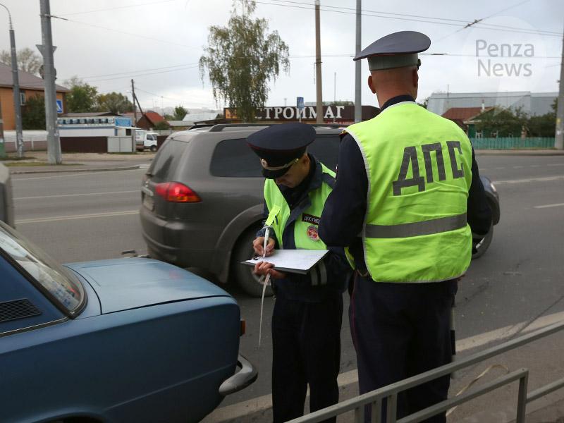 ВПензе 35-летняя автоледи повторно попалась на«пьяном» вождении