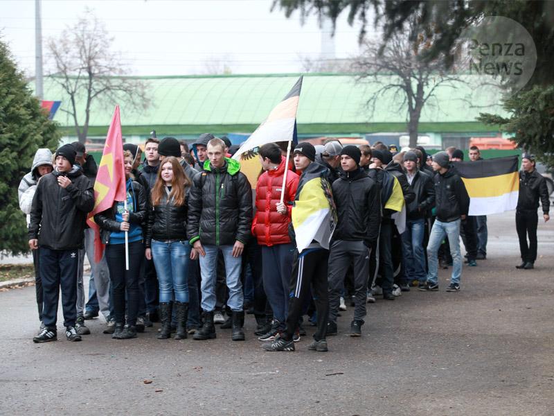 Русский Марш прошёл в Пензе
