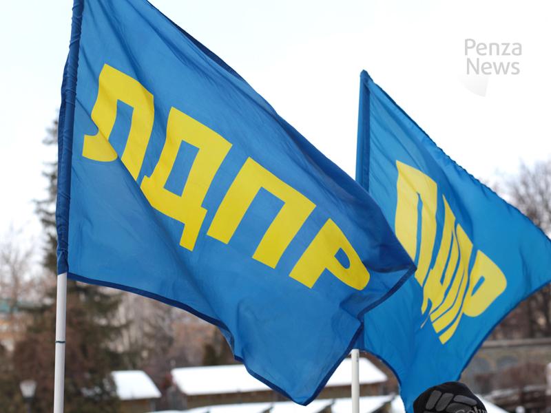 Жириновский возглавил список ЛДПР навыборах впензенское заксобрание