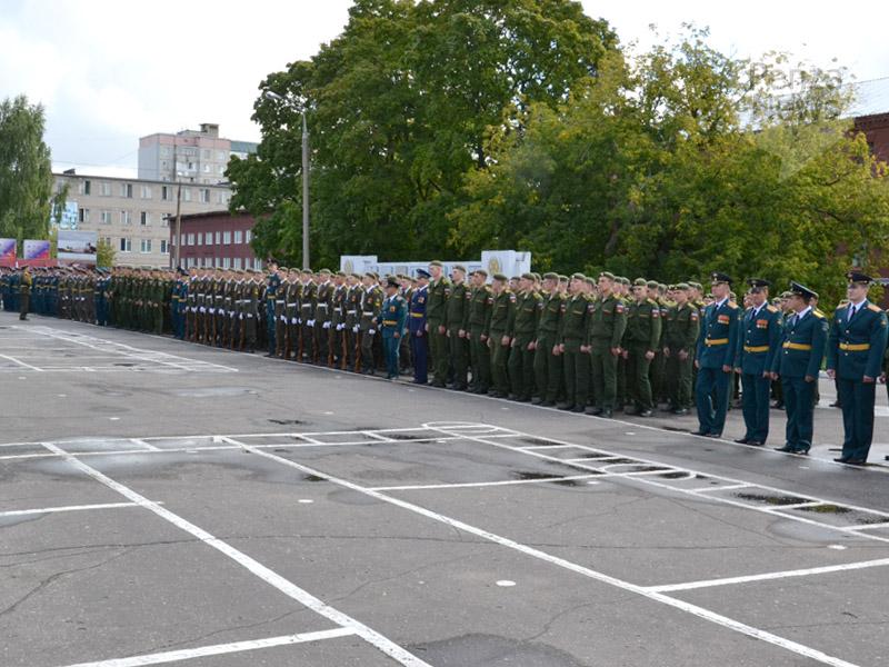 Присяга в пензенском артиллерийском инженерном институте (паии)09 августа 2014