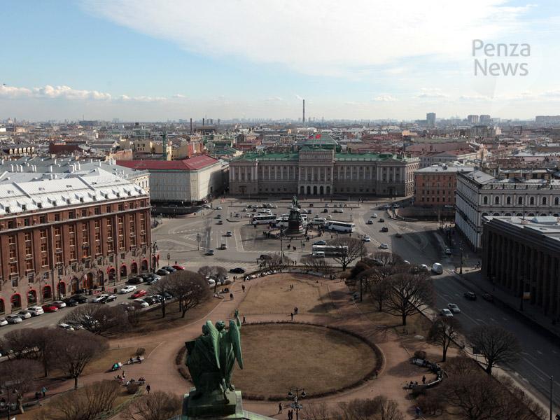 ВПетербурге открылся 21  международный экономический форум