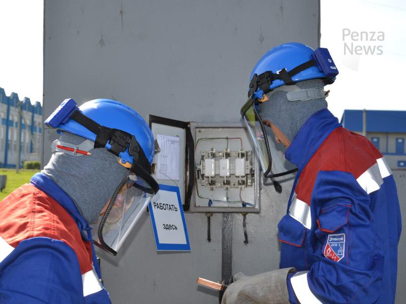 Конкурса профмастерства электромонтеров