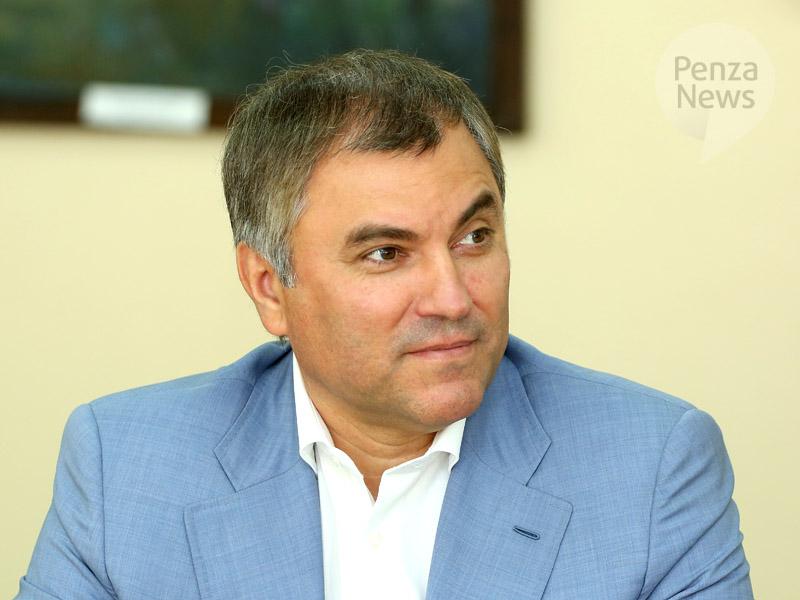 Олег Морозов считает Володина «уникальной фигурой» надолжность спикераГД