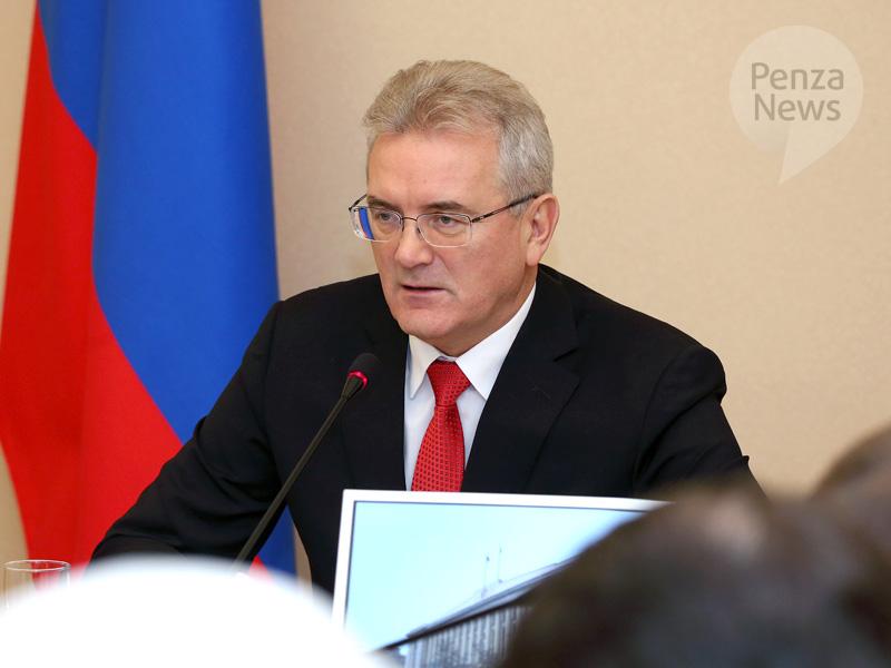 Пензенский губернатор занял восьмую строчку вмедиарейтинге порезультатам ноября
