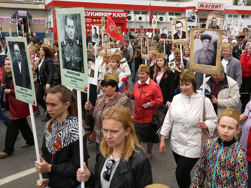 Песков: «Бессмертный полк» ненуждается вдополнительных организационных действиях